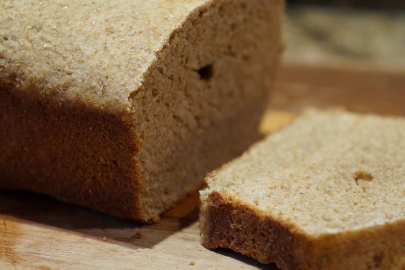 Pão de soja sem glúten