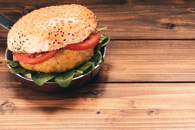 Receita de Hambúrguer vegano