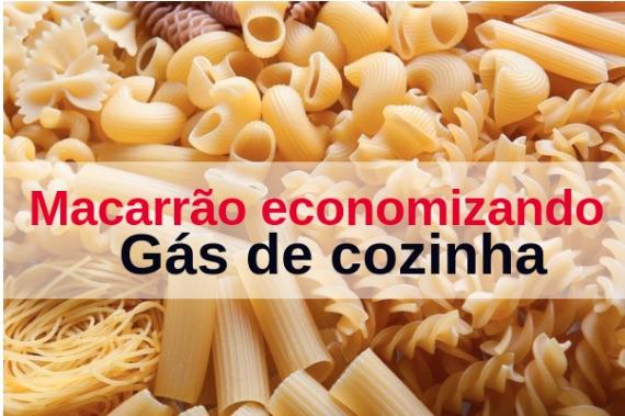 Como Fazer Macarrão gastando menos gás de cozinha