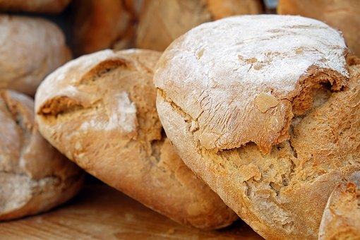 pão com farinha de arroz