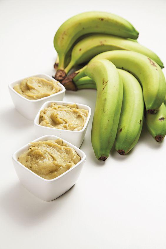 biomassa de banana verde