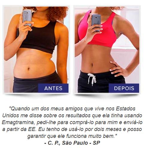 antes e depois emagtramina